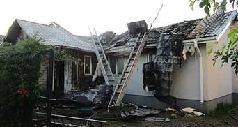 Пожежа в будинку Шабуніна виникла через підпал: з'явились результати експертизи