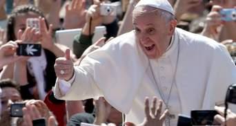 """""""Бог любить усіх дітей своїх"""": Папа Римський підтримав ЛГБТ-спільноту"""