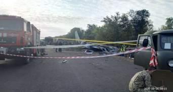 Падіння АН-26 біля Чугуєва: відповідальних за організацію навчальних польотів відсторонять