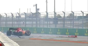Феттель вдрузки розбив болід Ferrari у Росії: відео аварії