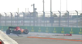 Феттель вдребезги разбил болид Ferrari в России: видео аварии