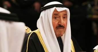 Помер 91-річний правитель Кувейту: що про нього відомо