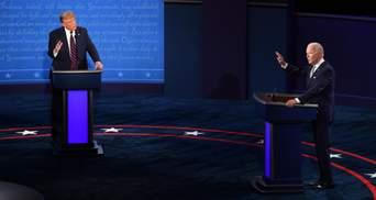 """""""Щеня Путіна"""" та """"клоун"""": Байден і Трамп влаштували словесну битву на дебатах"""