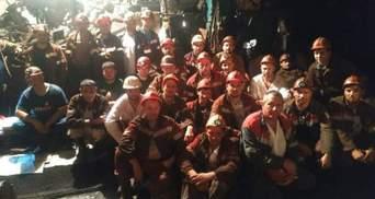 В Кривом Роге возобновляется производство на бастовавших шахтах