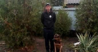 Службова собака спіймала грабіжників, які жорстоко побили пенсіонерку: фото і відео