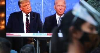 """""""Як примати у зоопарку"""": що пишуть іноЗМІ про дебати Трампа та Байдена"""