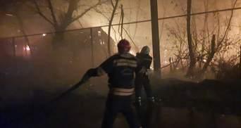 Найскладніша ситуація з пожежами на Луганщині від Станиці Луганської – до Сєвєродонецька