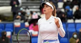 Світоліна з труднощами здолала росіянку та вийшла в 1/8 фіналу Ролан Гаррос