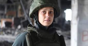 Любительница Путина Чичерина попала под обстрел в Нагорном Карабахе: видео