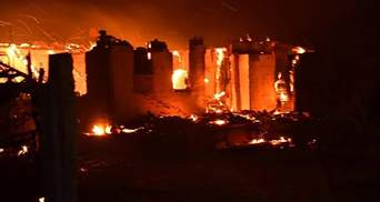Навколо вогонь, як у пеклі: страшні розповіді очевидців про пожежі біля Сєвєродонецька – відео