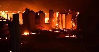 Вокруг огонь, как в аду: страшные рассказы очевидцев о пожарах возле Северодонецка – видео