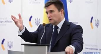 Це просто зміна тактики, – Клімкін про припинення вогню на Донбасі з боку Путіна