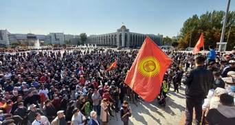 В Кыргызстане начались протесты из-за результатов парламентских выборов