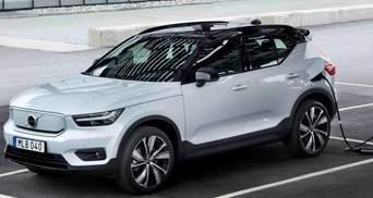 Volvo випускає свій перший кросовер з електродвигуном