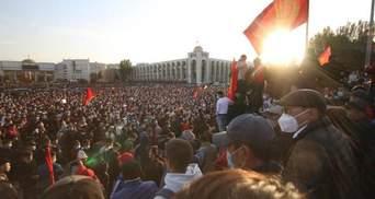 Протесты в Кыргызстане: все, что известно, фото, видео