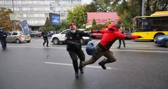 Чому застосували силу до активістів після суду над Антоненком: пояснення поліції