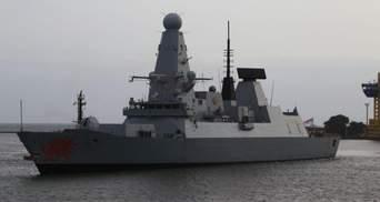 В Одеський порт прибув потужний есмінець Королівських ВМС Британії: фото