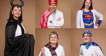 Врачи-супергерои: медиков львовского ОХМАТДЕТа переодели в персонажей фильмов – фото