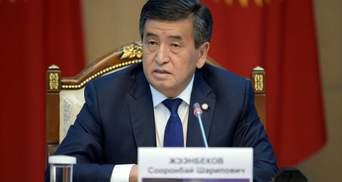 Чи піде президент Киргизстану у відставку: дві протилежні за змістом заяви пресслужби