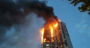У пожежі в багатоповерхівці у Південній Кореї постраждали майже 90 людей