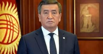 Президент Кыргызстана готов уйти в отставку, но есть условие