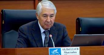 Спикер парламента Кыргызстана объявил об отставке после 4 дней на посту