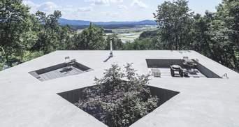 Будинок-бункер та дах-подвір'я: в Південній Кореї побудували сучасне житло – фото