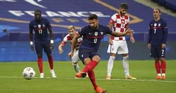 Франция в третий раз подряд победила Хорватию с голом Гризманна: видео