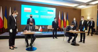 Украина и Польша будут развивать коридор между Балтийским и Черным морями: что это значит