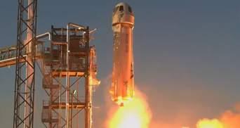 Blue Origin успішно запустила багаторазову ракету New Shepard: вона може полетіти на Місяць