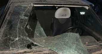 Автомобиль правозащитницы сожгли на Луганщине: фото