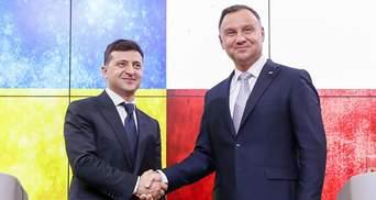 """""""Всегда была Европой"""": президент Польши поддержал путь Украины в ЕС"""