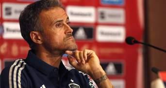 Не реализовали преимущество: тренер Испании Энрике разочарован игрой подопечных против Украины