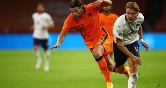 Италия дома сыграла вничью с Нидерландами и продолжила серию без поражений: видео