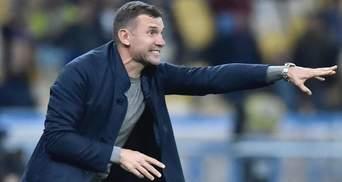 Шевченко вийшов на друге місце серед тренерів збірної України після перемоги над Іспанією