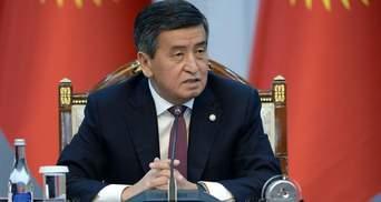 Президент Кыргызстана Жээнбеков назвал условия для своей отставки