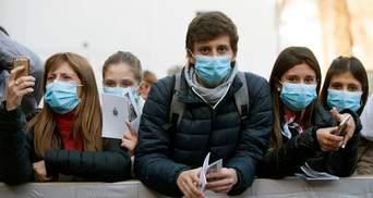 У Європі фіксують рекордний приріст хворих на COVID-19