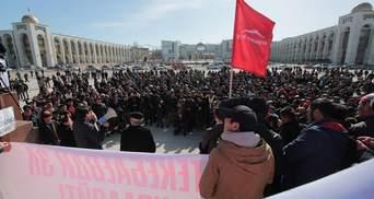 Росія хоче призупинити фінансову допомогу Киргизстану
