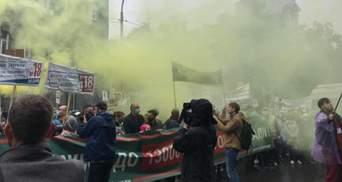 """Инвесторы """"Аркады"""" угрожают перекрыть движение в центре Киева"""