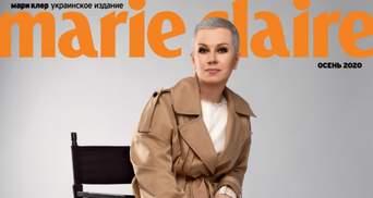 Алла Мазур снялась в осенней фотосессии для глянца и рассказала о борьбе с раком