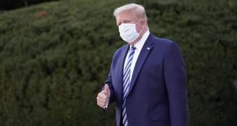 Трамп не зміг відповісти, чи робили йому обов'язковий тест на COVID-19 перед дебатами