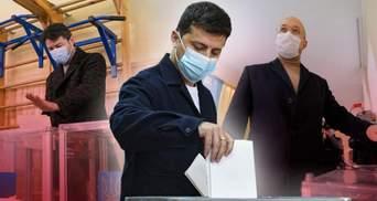Як проголосували на місцевих виборах відомі політики та діячі: фото та відео