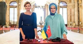 Олена Зеленська запустила україномовні аудіогіди в культурних пам'ятках Туреччини: яскраві фото