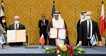 """""""Як члени сім'ї"""": Ізраїль і Бахрейн офіційно уклали угоду про мир"""