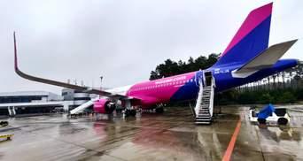 Лоукостер Wizz Air возобновил рейс Львов – Щецин: детали