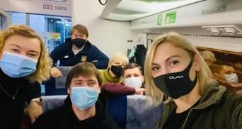 """""""Слуги народу"""" відправились на Донбас: фото"""