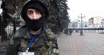 """В Харькове полиция задержала антимайдановца """"Топаза"""", но сразу отпустила"""