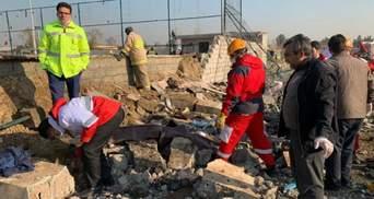 Украина требует от Ирана предоставить всю информацию об авиакатастрофе МАУ