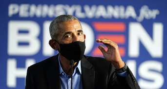 Трамп растоптал США, – Обама впервые публично выступил за Байдена