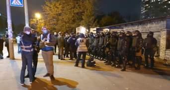 Полиция открыла производство из-за блокирования выезда Антоненко в СИЗО